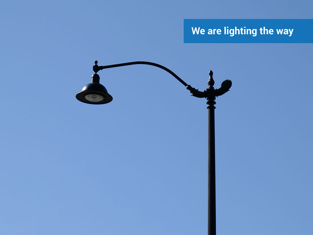 We are lighting the way