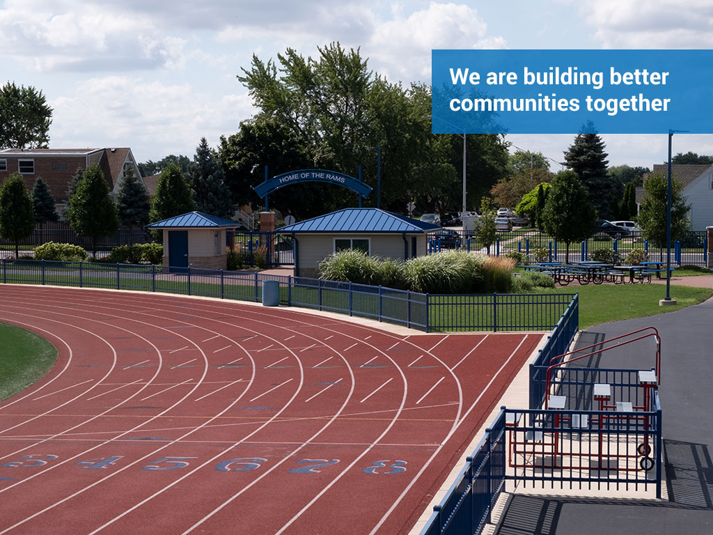 We are building better communities together