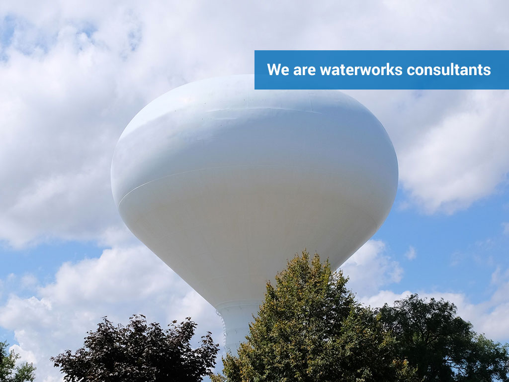 We are waterworks consultants