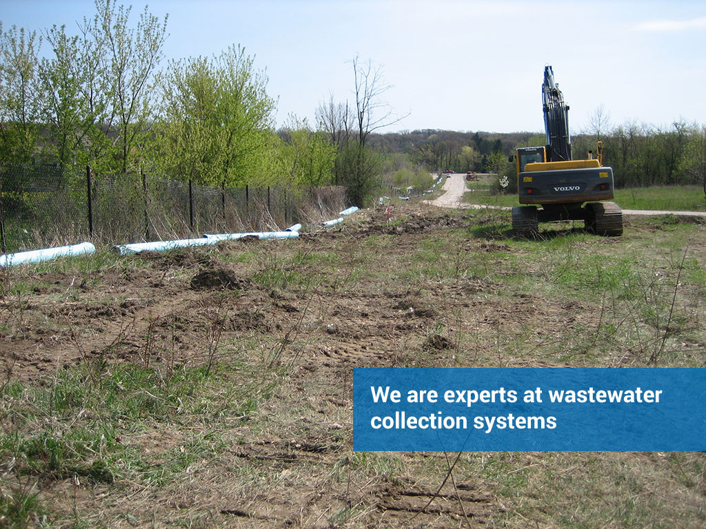We are experts at wastewater